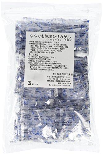 坂本石灰工業所 なんでも除湿シリカゲル 10g42P [0427]