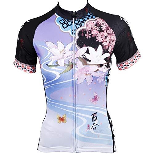 Zhang Nouveau Homme VTT Veste Longue extérieur Vélo à Manches Longues Équipement Costume équitation 14 (Color : Short Sleeve, Size : XXL)