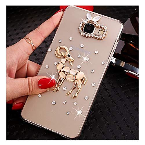 Note 9 8 Glitter Bling Rhinestone Case For Galaxy S6 S7 Edge S8 S9 Plus J7 Neo J3 J5 A3 A5 A7 A8 A9 3 A5 2017 a520
