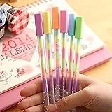 Amison 1 PCS mit sechs Farbe Gel Pens, Gradient Farbe Stift, Zeichen Stifte, Bling-Roller Stifte, Maker Stifte f¨¹r Scrapbook Deco, Malen, Zeichnen, Hochzeit