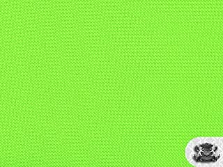 Water Proof NEON GREEN Fabric By the Yard