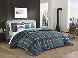 Eddie Bauer Cattle River Multi- Piece Comforter Set, Queen, Blue