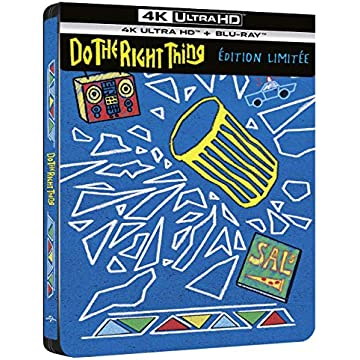 Do The Right Thing [4K Ultra HD + Blu-Ray-SteelBook édition limitée]