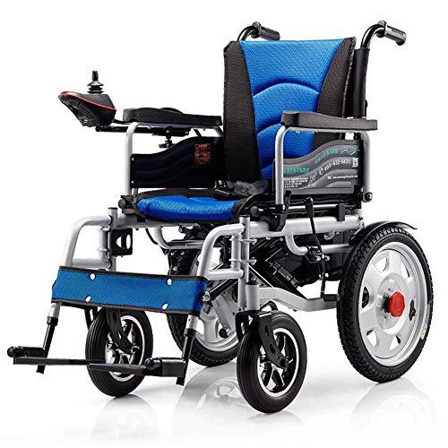 Inicio Accesorios Ancianos Discapacitados Silla de Ruedas Eléctrica Plegable Ancianos Discapacitados Coche de Ayuda Ancianos Inteligente Compacto Automático Portátil Ligero Scooter Libre Instalació