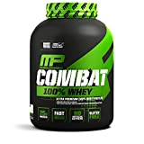 MusclePharm Combat 100% Whey, Muscle-Building Whey Protein Powder, Vanilla, 5 Pounds, 73 Servings