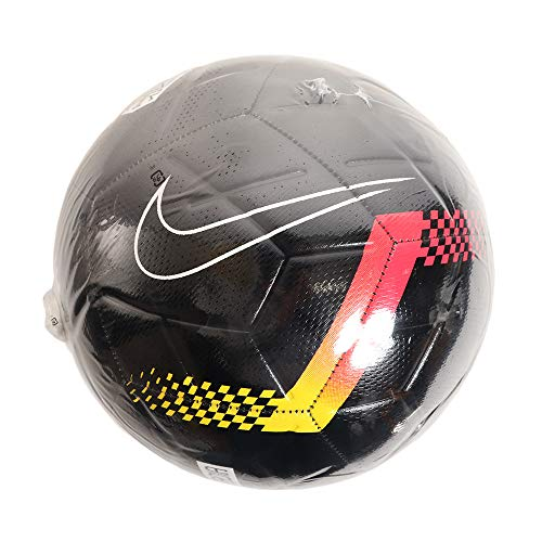NIKE Neymar Strike Balón Fútbol, Adultos Unisex, Multicolor(Black/Chrome Yellow/Red Orbit/Black), 5