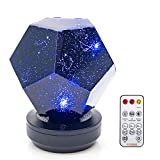 Galaxy Star LED Night Light Projector Bluetooth Music Player Rotating 3 Colours Adjustable Lights USB Cable Rechargeable...