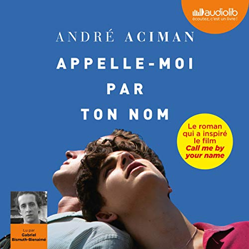 Appelle-moi par ton nom audiobook cover art