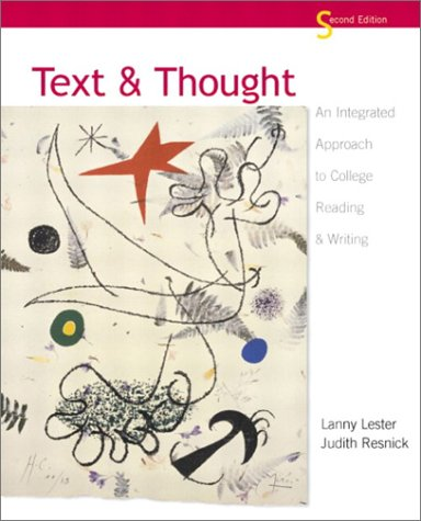 Text and Thought: An Integrated Approach to College Reading and Writing (2nd Edition)