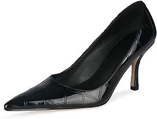 Escarpins à talons hauts pour femme - 8 cm - Pour la marche et les fêtes - Zc842-5s