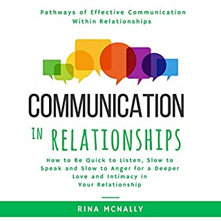 Communication in Relationships audiobook cover art