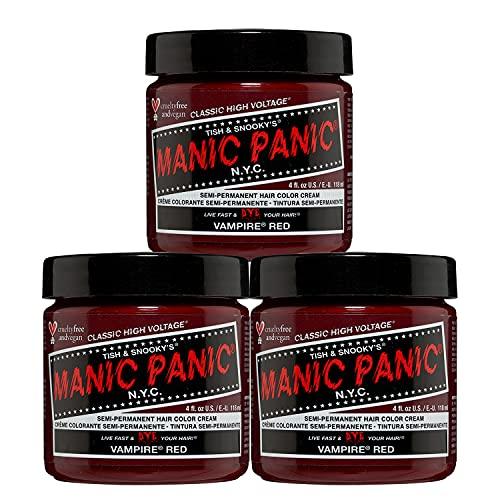 Manic Panic Vampire Red Hair Dye - Classic (3PK)
