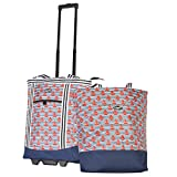 Best Rolling Coolers - Olympia 2-Piece Rolling Shopper Tote and Cooler Bag Review