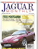 Jaguar Monthly Magazine, January 1999 (Issue No 8), with 2 Free Postcards - Daimler Super V8, Jaguar XK180 Concept Car