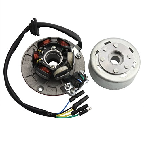GOOFIT Magneto Stator Flywheel Rotor Kit for YX 140cc 150cc 160cc Pit Dirt Bike