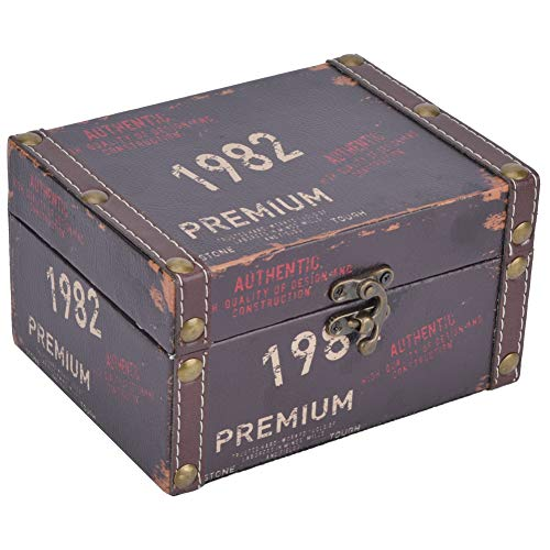 caja vintage de la marca Aufee