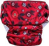 Bumpadum Neo Putani Organic Cotton Cloth Diaper for Newborn Babies - 2-8 Kgs (Eden)