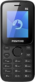 Celulares Básicos Feature Phone P31, Positivo, 11130830, 64MB, 1.8, Preto