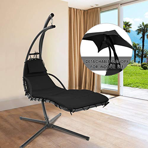 7 Best Hanging Chaise Loungers Of 2020 Homesthetics Inspiring Ideas For Your Home