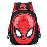 Cvxgdsfg Sac d'école pour Enfants de 3 à 7 Ans Spider-Man à Coque Dure pour bébé, Paquet d'école Maternelle à Taipan (Color : B)