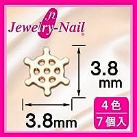 [フレーム]ネイルパーツ Nail Parts フレームダリン(S) シルバー 日本製 made in japan