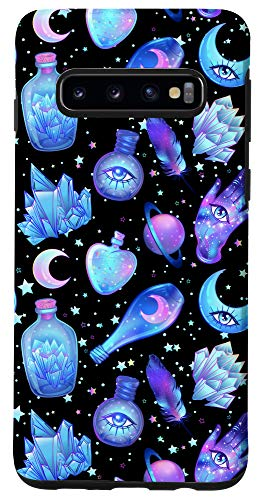Galaxy S10 Pastel Goth Kawaii Witch Creepy Cute Witchy Case