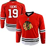 Jonathan Toews Chicago Blackhawks #19 Red Youth Rookie Year Home Replica Jersey (Small/Medium 8-12)