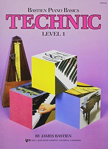 Bastien Piano Basics Level 1 - Leer Vier Boekenset spelen - Inclusief Niveau 1 Piano, Theorie, Techniek en Prestaties Boeken