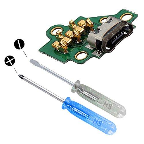 MMOBIELDock Connector kompatibel mit Motorola Moto G3 3rd Gen Mikro USB Ladebuchse Charging Port inkl. Schraubenzieher