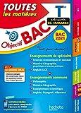 Objectif Bac 2021 Toutes les matières Term Enseignements communs +...