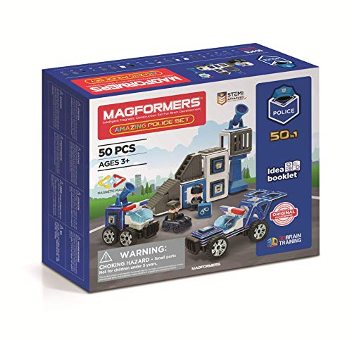 MAGFORMERS GmbH 278-55 Magformers Amazing Police...