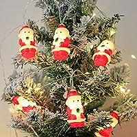 クリスマスの弦楽器 USBリモコンのクリスマスの装飾的な6.6フィート9.8フィートのひもライト10個20個 導いた屋内屋外のクリスマスツリーのウェディングパーティーのためのライト (Color : 9.8ft, Size : Usb and remote control)