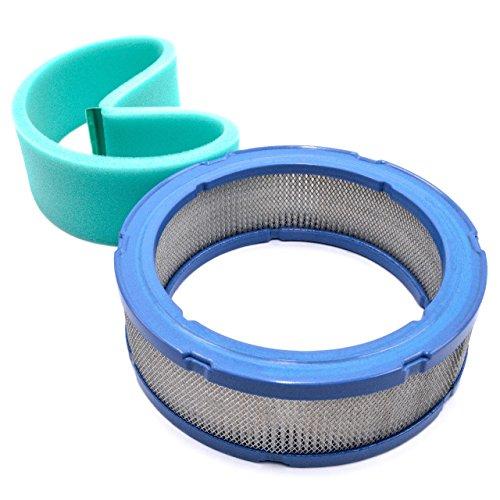 vhbw 2x Ersatz-Filter Vor-Filter Luft-filter für Rasenmäher wie Briggs & Stratton 271141, 271271, 272490, 272490S, 392642, 394018, 394018S, 4135