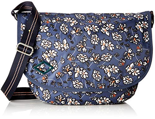 Oilily Damen Groovy Diaperbag Lhf Rucksackhandtasche, Grau (Grey), 14x29x40 cm