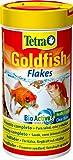 Tetra Goldfish Flakes - Alimento para todos los peces dorados y otros peces de agua fría, 250 ml