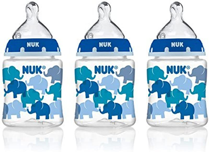 NUK Perfect Fit Baby Bottle Boy 5oz 3pk