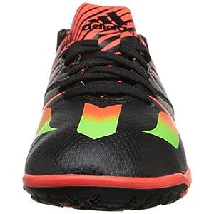 adidas Kids' Messi 15.3 TF J-K, Black/Green/Solar Red, 12.5 M US Little Kid