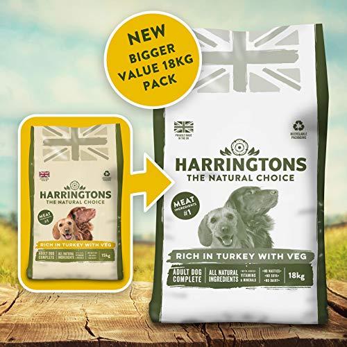 Harringtons Complete Turkey and Veg Dry Dog Food, 18 kg