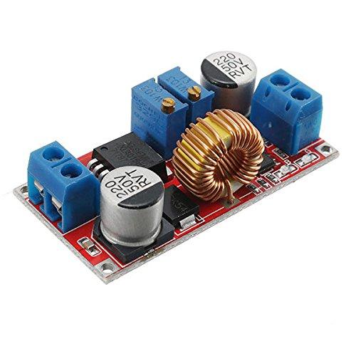 Mukuai31 5 unids de salida 1.25-36v 5a flujo constante voltaje constante de voltaje de litio cargador de batería de litio paso abajo Módulo de fuente de alimentación LED controlador de alta potencia b