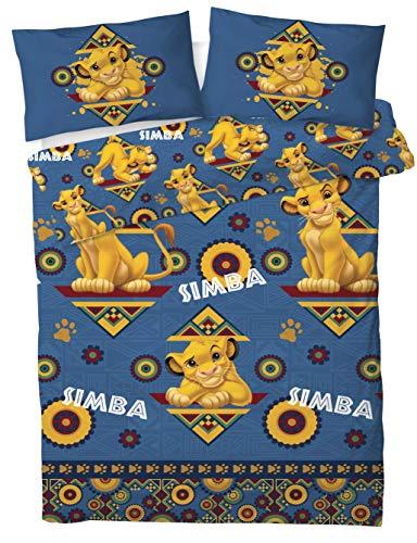 """Disney Juego de funda de edredón doble """"Simba"""" de The Lion King"""