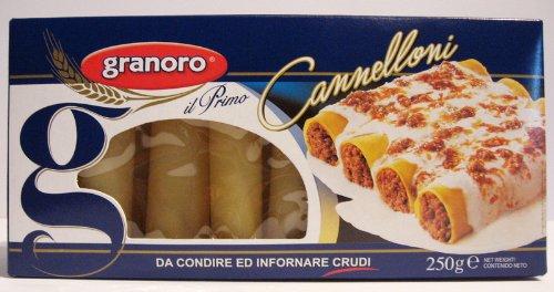 Granoro Cannelloni Precotti Nr. 76 - 250 gr.