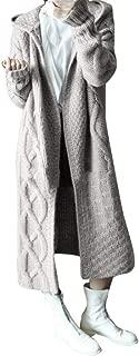 Maxi Sweater Cardigan Women Winter Hoodie Outwear Knitted Coat Outwear