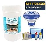 miglior BuyStar Kit Pulizia Piscine con: Cloro 1KG in Past