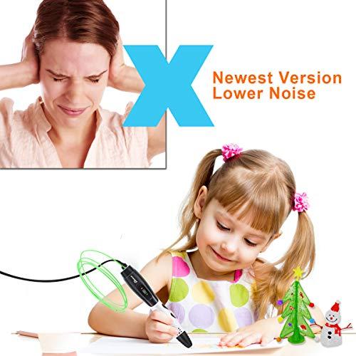 3D Stifte für Kinder mit LCD Display, 3D Druckstift, 3D Stift Set mit 1,75 mm PLA Filament für Kinder, Erwachsene, Kritzelei, Zeichnung und Kunst & handgefertigte Werke - 7
