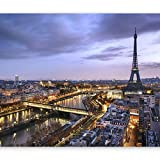 murando - Fotomurali adesivi – Paris Parigi 294x210 cm - carta da parati...