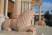 イタリアアンコーナ大聖堂彫刻ジグソーパズル大人用1000ピース木製トラベルギフトお土産