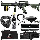 Maddog Tippmann Cronus Tactical Corporal HPA Paintball Gun Marker Starter Package - Black/Olive