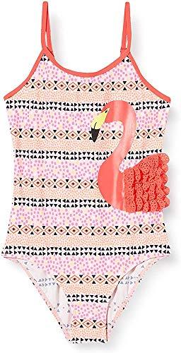 Schiesser Mädchen Badeanzug, Mehrfarbig Multicolor 1904, 116