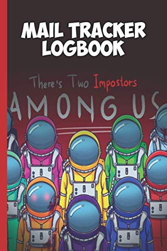 Among US: Mail Tracker Logbook: To Record Incoming and Outgoing Mails 6x9 inch 114 Pages