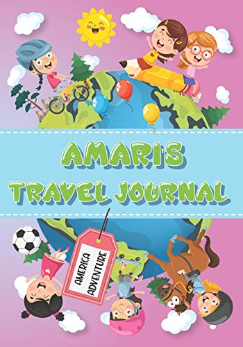 Amari's Travel Journal: Personalised Awesome Activities Book for USA Adventures